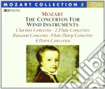 MOZART COLLECTION 3 - CONCERTI PER FIATI cd musicale di Wolfgang Amadeus Mozart