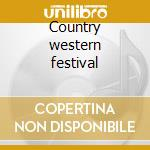 Country western festival cd musicale