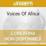 Voices of africa vol.2 cd musicale