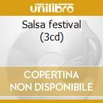 Salsa festival (3cd) cd musicale