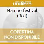 Mambo festival (3cd) cd musicale