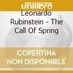 Tha call of spring cd musicale di L. Rubinstein