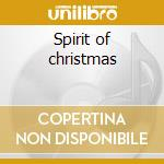 Spirit of christmas cd musicale di Med Goodall