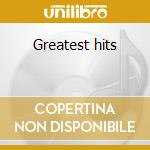 Greatest hits cd musicale di Harry Belafonte