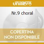 Nr.9 choral cd musicale di Beethoven