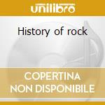 History of rock cd musicale