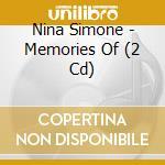 MEMORIES OF NINA SIMONE (2CD) cd musicale di SIMONE NINA