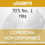 Seventies no.1 hits cd musicale di Artisti Vari