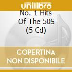 No.1 hits of the 50's cd musicale di Artisti Vari