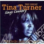 Sings country cd musicale di Tina Turner