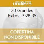 20 GRANDES EXITOS 1928-35 cd musicale di GARDEL CARLOS