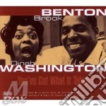 YOU'VE GOT WHAT IT TAKES cd musicale di B.BENTON & D.WASHING