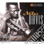 Milestones (3cd) cd musicale di Miles Davis