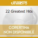 22 GREATEST HITS cd musicale di COLE NAT KING