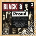 Black & proud (3 cd) cd musicale di B.smith/b.holiday/m.