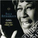 SALUTES  (BOX 3 CD) cd musicale di ELLA FITZGERALD