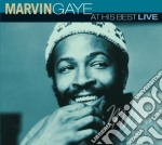 AT HIS BEST LIIVE cd musicale di GAYE MARVIN