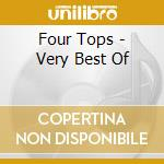 Very best of cd musicale di Tops Four