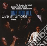 One For All - Live At Smoke Vol.1 cd musicale