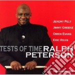 TESTS OF TIME cd musicale di PETERSON RALPH