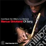 Markus Strickland - Of Song cd musicale di Strickland Markus