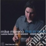 Mike Moreno - First In Mind cd musicale di Mike Moreno