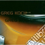 GREG KOCH 13x12 cd musicale di Greg Koch