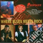 WHERE THE BLUES MEETS ROCK cd musicale di ARTISTI VARI