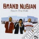 FIRE IN THE HOLE cd musicale di BRAND NUBIAN