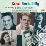 Great rockabilly vol.3 cd musicale di Artisti Vari