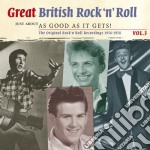 Great british rock'n'roll vol.3 cd musicale di Artisti Vari