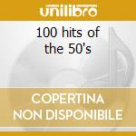 100 hits of the 50's cd musicale