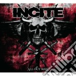 Incite - All Out War cd musicale di Incite