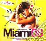 MIAMI AZULI 2008 MIXATO cd musicale di ARTISTI VARI