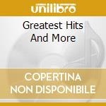GREATEST HITS AND MORE cd musicale di CHRISTIE