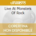 LIVE AT MONSTERS OF ROCK cd musicale di SAXON