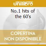 No.1 hits of the 60's cd musicale
