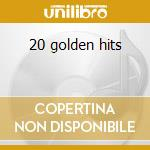 20 golden hits cd musicale di Johnny Cash