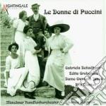 Le donne di puccini cd musicale di Giacomo Puccini