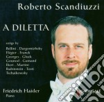 Roberto Scandiuzzi - A Diletta cd musicale di Miscellanee
