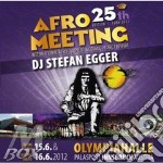 Afro meeting 25th ed. 1988/2012 cd musicale di Dj stefan egger