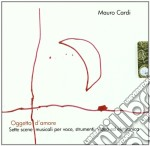 Mauro Cardi - Oggetto D'Amore cd musicale di Mauro Cardi