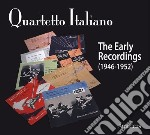 The early recordings cd musicale di Italiano Quartetto