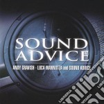 Andy Gravish & Luca Mannutza - Sound Advice cd musicale di GRAVISH ANDY-MANNUTZA LUCA