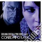 Giuliana Soscia & Pino Jodice 4tet - Contemporary cd musicale di Giuliana soscia & pi