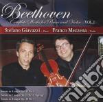 S.giavazzi/f.mezzena - Beethoven Vol.2 cd musicale di GIAVAZZI / MEZZENA