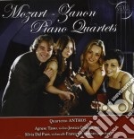 Quartetto Anthos - Mozart-zanon Piano 4tets cd musicale di Anthos Quartetto