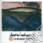 AMERICAN LANDSCAPES 2                     cd musicale di Tentet Chicago