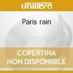 Paris rain cd musicale di Brenda Russel