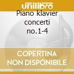 Piano klavier concerti no.1-4 cd musicale